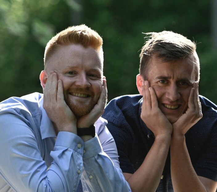 Altibox-Michael og kompisen Gunnar starter egen bedrift: – Vi har litt for mye tid til overs