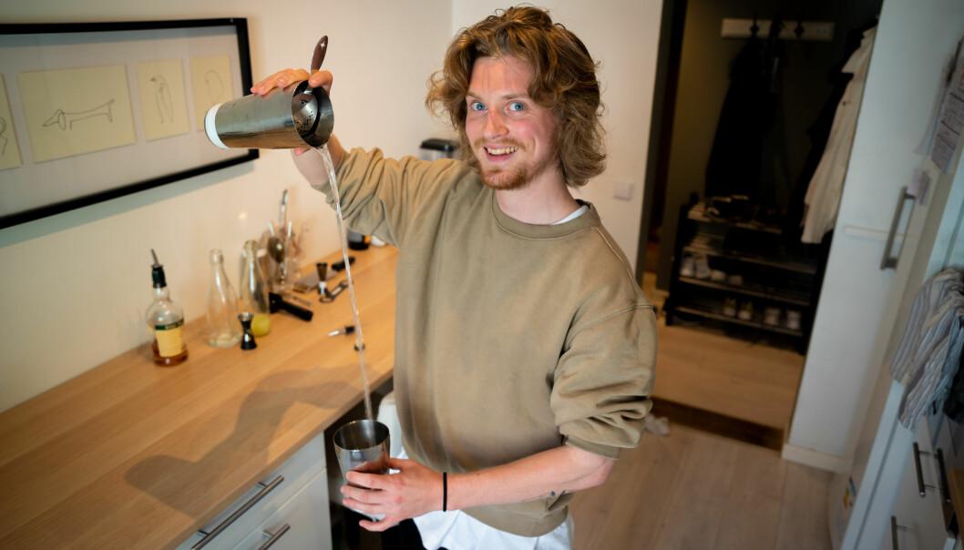 TikTok-bartender: Andreas Ording