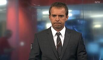Her innser NRK-ankeret omfanget av terrorangrepet - like før han skal på direktesendt TV