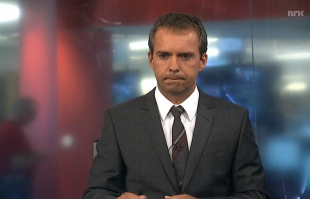 Jarle Roheim Håkonsen fra rollen som programleder i NRK.