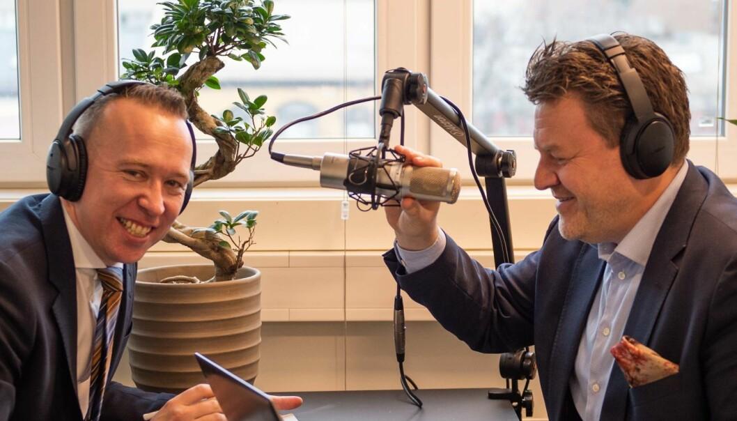 MeyerHaugen stiller krav til arbeidsgivere med podkast når de rekrutterer