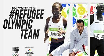 OL i Tokyo: Ny kampanje skal få TV-seerne til å støtte flyktninglag