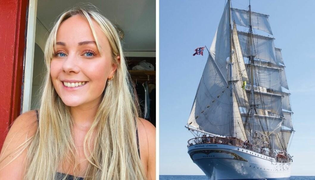 Ingrid Wollberg dekker første etappe som seiler fra Arendal til La Coruña, Lisboa, Cadiz og ender i Las Palmas i slutten av september 2021.