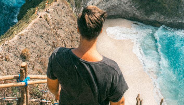 Mads har seks millioner følgere på TikTok: – Målet er å spre turglede og inspirere til reising