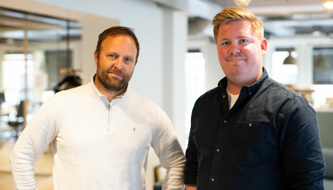 Scott Olav Allan er ansatt som seniorrådgiver i TRY Råd, her sammen med Sindre Beyer.