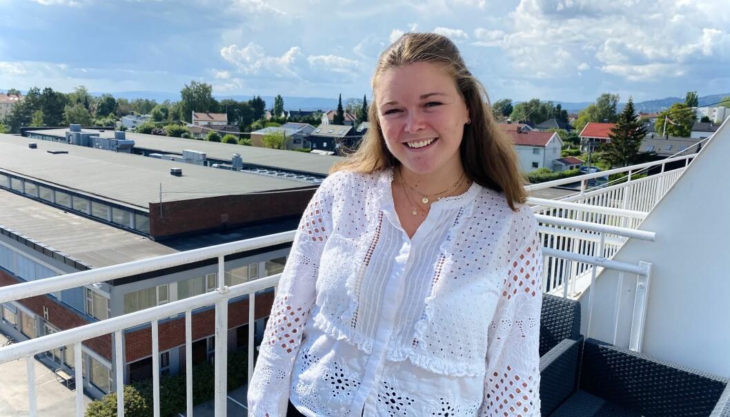 Martine Barkved Næss har nylig levert en master i strategisk markedsføringsledelse og søkte derfor etter jobb i et ungt og nyskapende miljø. Fra før har hun en bachelor i PR, kommunikasjon og media fra Høgskulen i Volda og en MSc i Strategisk Markedsføringsledelse fra Handelshøyskolen BI.