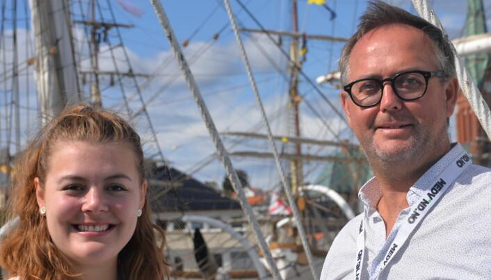 Bruker en million kroner på at byrå og kunder kan bo sammen på båt under Arendalsuka