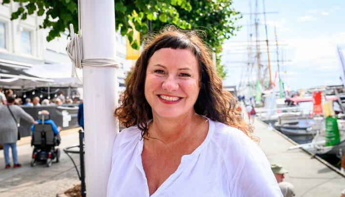 Marit Høvik Hartmann, managing partner Geelmuyden Kiese, forteller at GK har en relativt liten offentlig portefølje, slik at det for dem har lite å si når det komme til drift, om det er en borgerlig eller en rødgrønn regjering.
