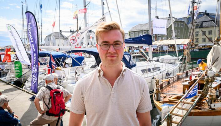 Håkon Snortheim, juniorkonsulent i Geelmuyden Kiese.