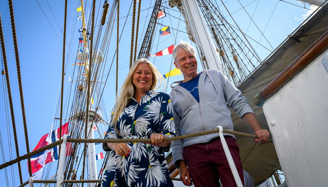 Eli Kari Gjengedal og Ronald Toppe har jobbet sammen i TV 2 i over 20 år, nå har de og startet firma sammen.