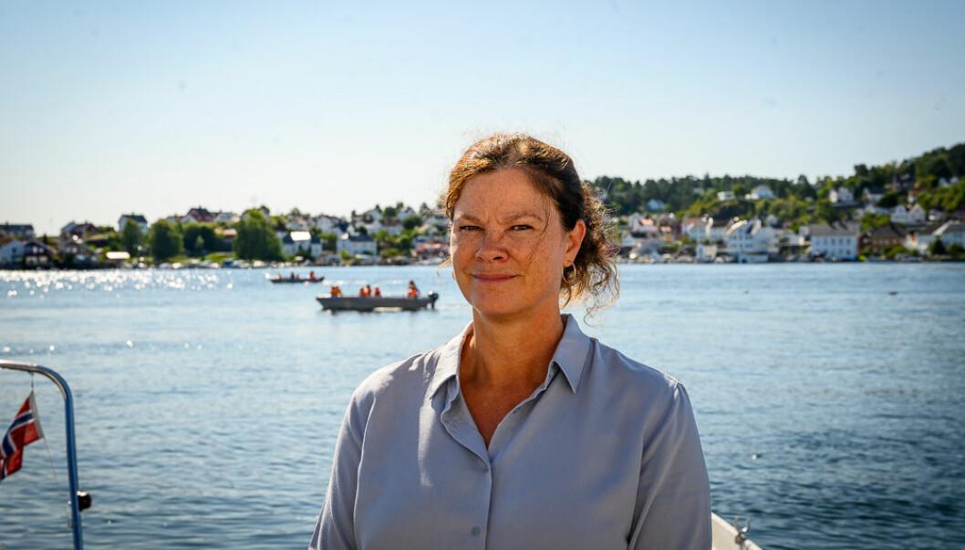 Kommunikasjonsdirektør Christina Rolfheim-Bye i Folkehelseinstituttet.