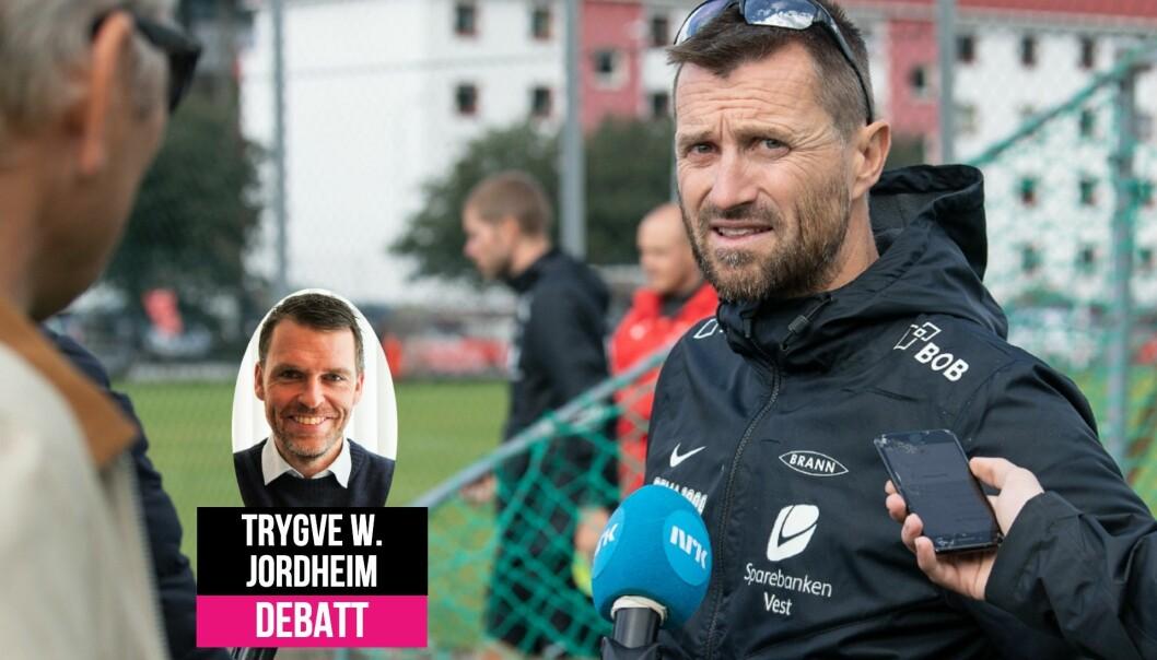 Trygve Jordheim synes Brann-trener Eirik Horneland gjorde en god kommunikasjonsjobb da klubben stod i krise.