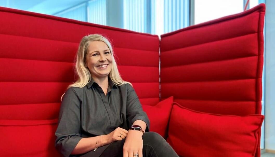 Cornelia Bjørke-Hill tar steget opp til Head of Group Communications & PR i Simployer.