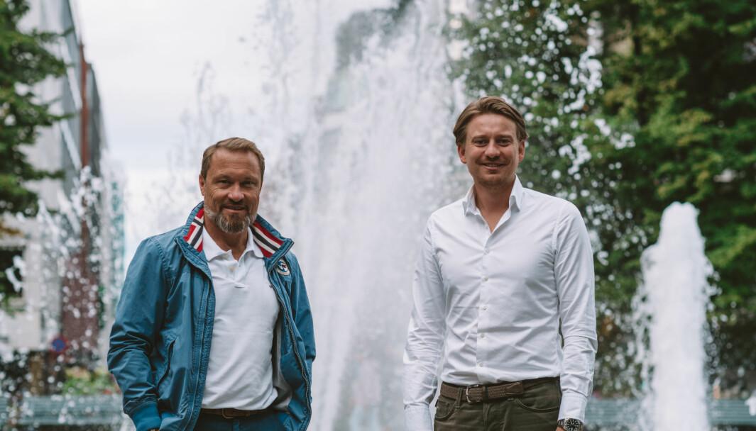 Eirik Riibe og Fredrik Hagelund.