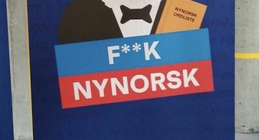 FpU satte i gang kampanjen F**K nynorsk – det førte til flere hundre nye medlemmer til Noregs mållag