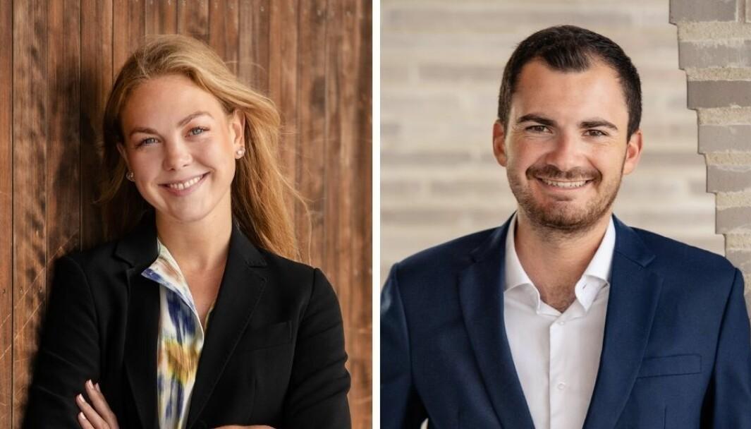 Anna Dulsrud Mageli og Jonas Sortland Fougner, har begge spesifikk erfaring og kompetanse innen finansiell kommunikasjon.