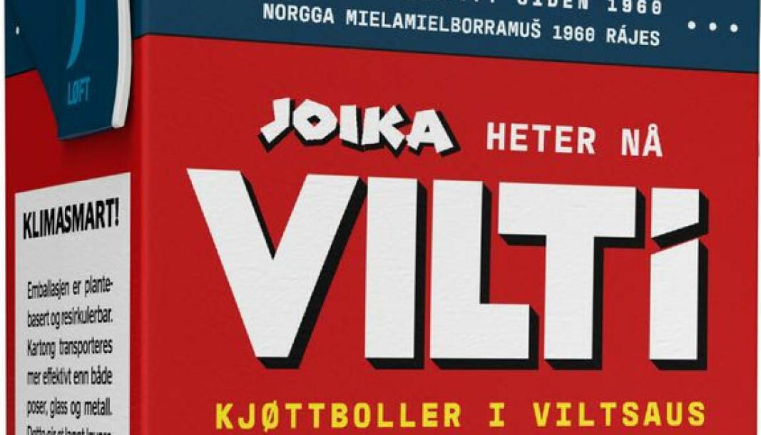 Joikakaker har nå byttet navn til VILTi.