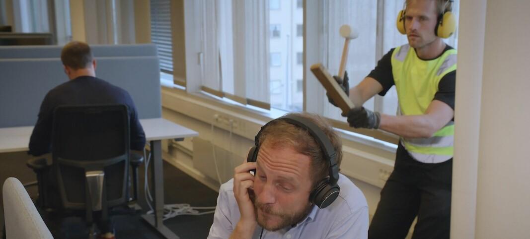 Se den morsomme videoen her: KPMG gjør alt for at de ansatte skal føle seg som hjemme når de kommer på kontoret igjen