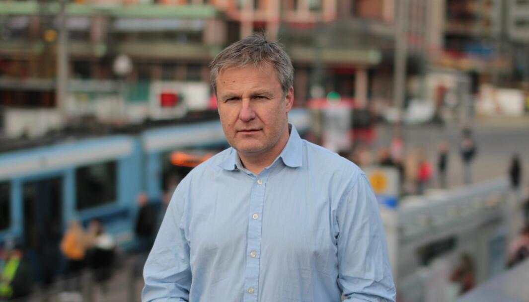Leder for kommunikasjon Eirik Andersen i Ruter.