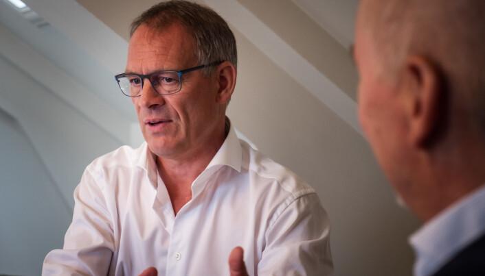 Torbjørn Torsvik, leder for markeds- og forretningsutvikling for PWC i Bergen.