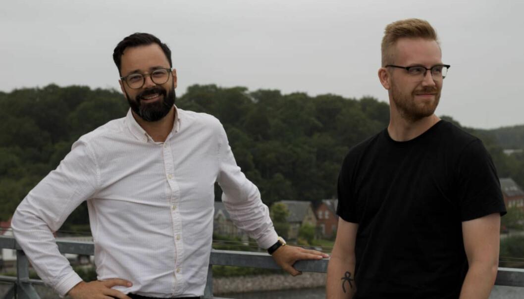 Frank Otterbeck og Steffen Nørgaard i Quickorder NO/DK.