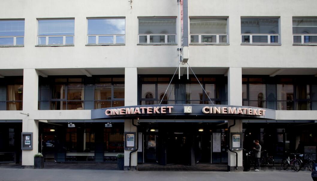 Eksteriør av Filmens hus og Cinemateket i Dronningens gate i Oslo.Foto: Stian Lysberg Solum / NTB