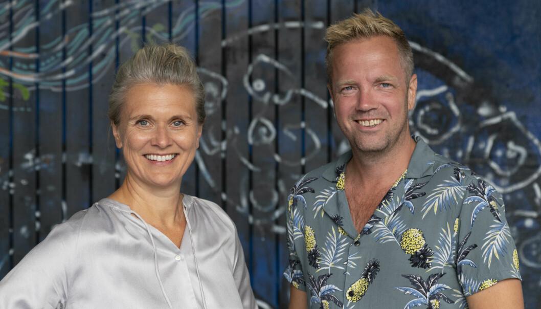 Monica Hannestad og Hogne Malum Gjersvik