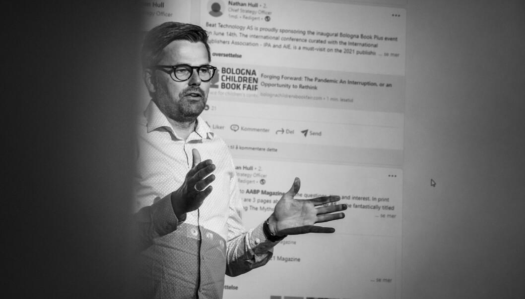 Njål Hansen og Beat Technology har blitt vant til å jobbe digitalt med kundende det siste året. En potensiell kunde fra Romania tok kontakt, de ferdigforhandla en avtale og gjennomførte et prosjekt og lansert en lydboktjeneste uten at de har møtt hverandre.