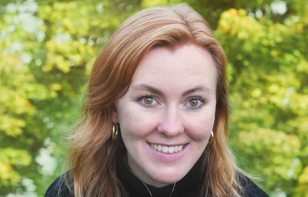 Benedicte Hilde Tandsæther-Andersen har nylig startet i jobben som kommunikasjonsrådgiver i EY.