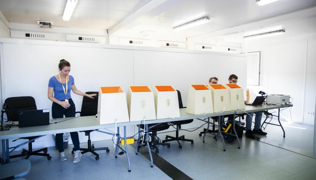 Slik skal Kristina og gjengen i Valgdirektoratet få nordmenn til å gå og stemme
