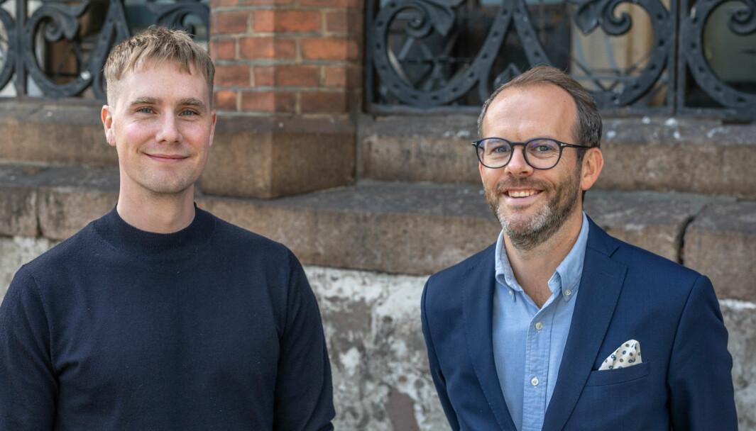 F.v. Sigmund Wøien og Tor Asbjørn Hegge