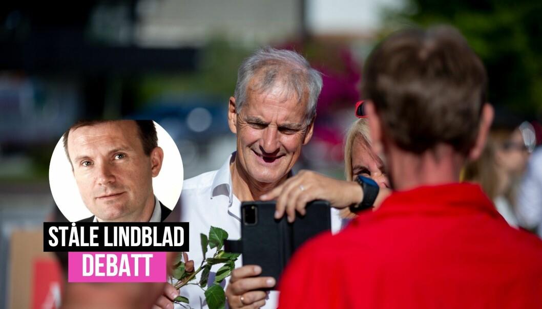 «Norske medier vil ikke fortelle hvor mye de tjener på politiske annonser i valgkampen», skriver Ståle Lindblad.