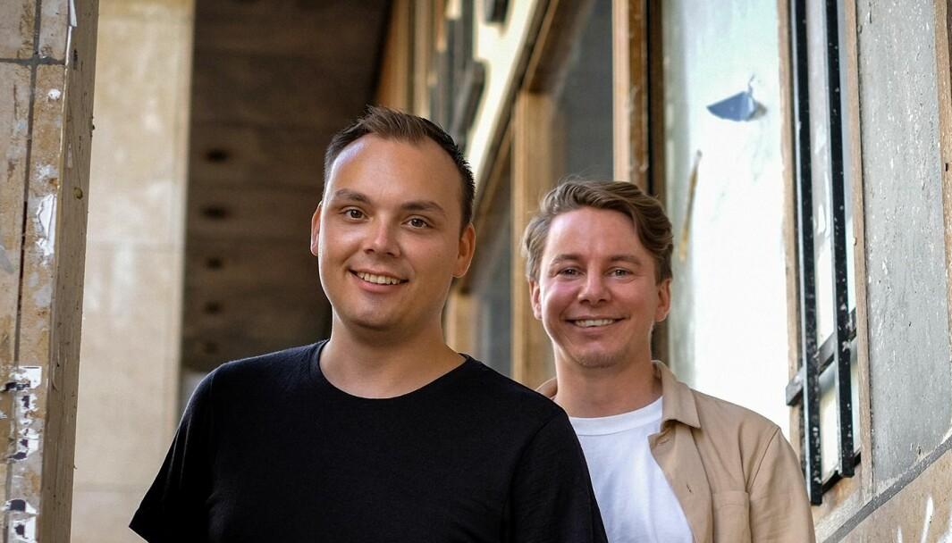 F.v. Joachim Haraldsen og Erik Holm.