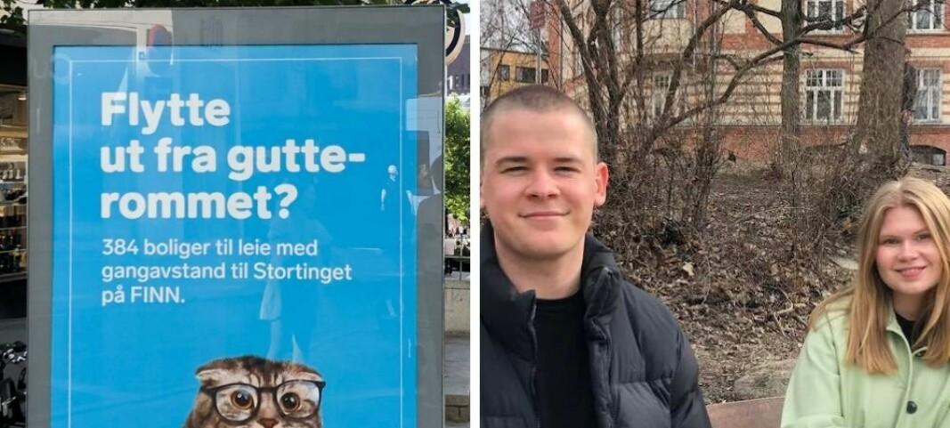 Brukte kun 20 timer på å lage reklame om Kjell Ingolf Ropstads boligtabbe