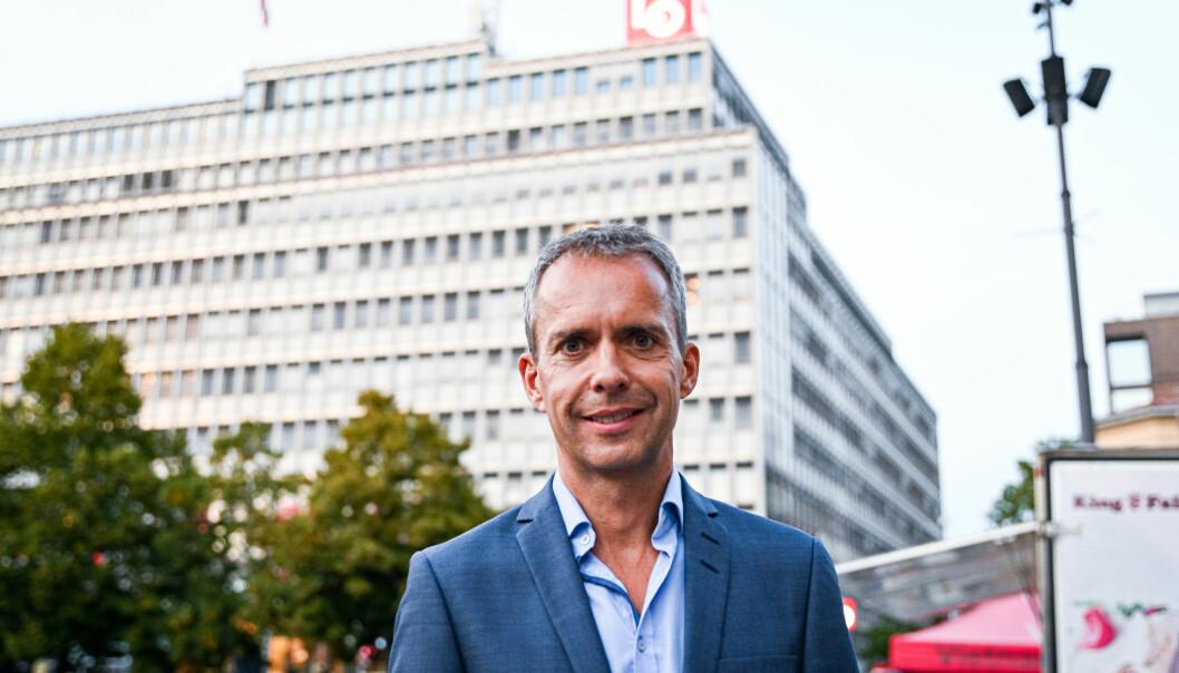 Jarle Roheim Håkonsen mener de ikke har gjort noen store feil i årets valgkamp, noe som har vært en viktig suksessfaktor for partiet.
