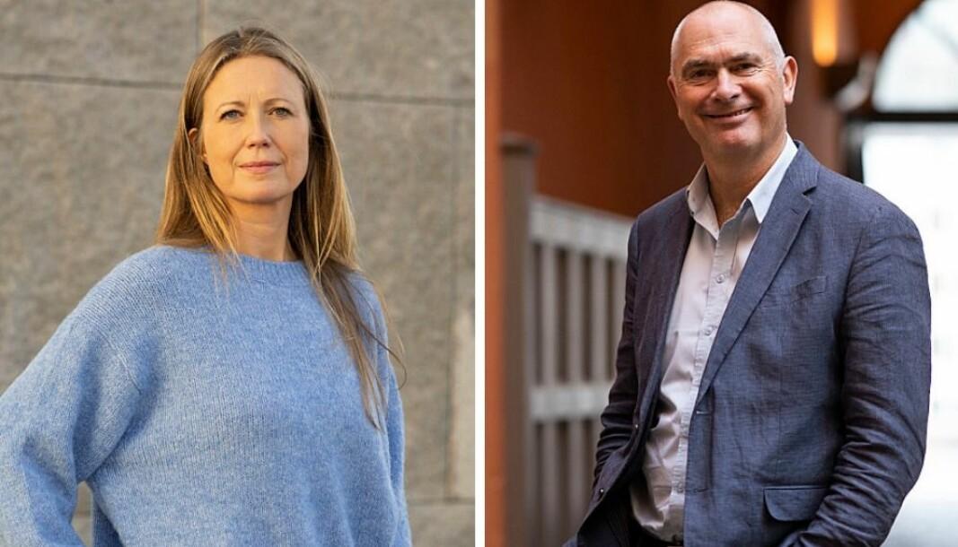 Therese Manus og Jan Morten Drange