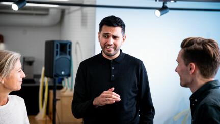 Umar Ashraf: – Det er fortsatt en lang vei å gå, men det skjer ting