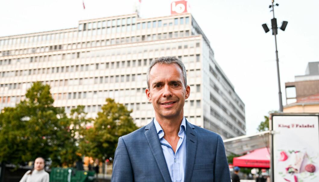 Jarle Roheim Håkonsen, kommunikasjonssjef i Arbeiderpartiet