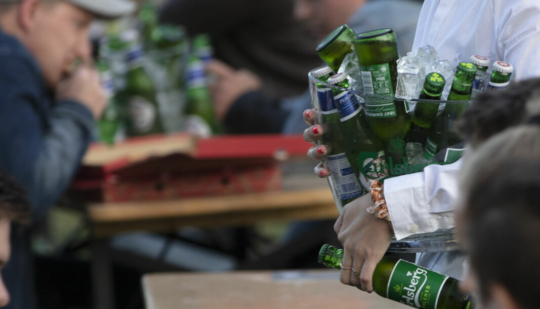 Norske influensere publiserer store mengder poster som inneholder alkohol i en eller annen form, viser en undersøkelse som er gjennomført. Foto: Geir Olsen / NTB
