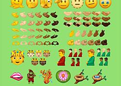 Her er de nye emojiene