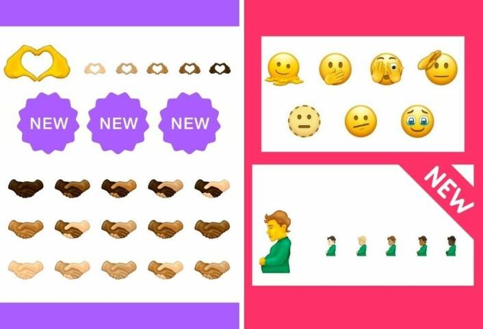 BLM-bevegelsen preger, og er blant de nye emojiene vi kan vente oss i slutten av året, eller tidlig 2022.