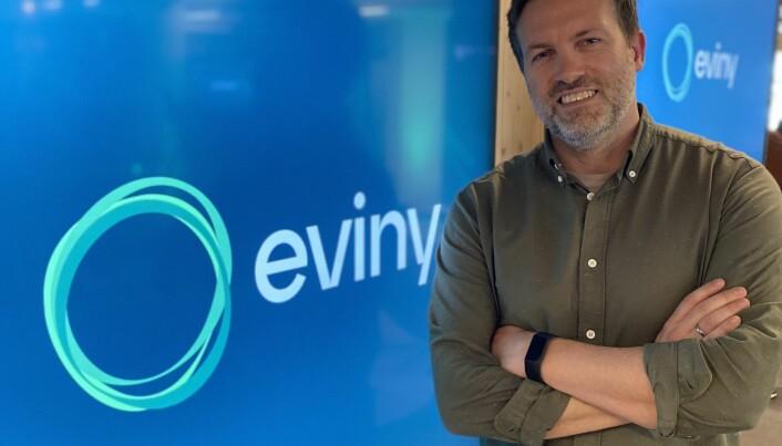 Alexander Solberg, merkevare- og sponsoransvarlig i Eviny og BKK.