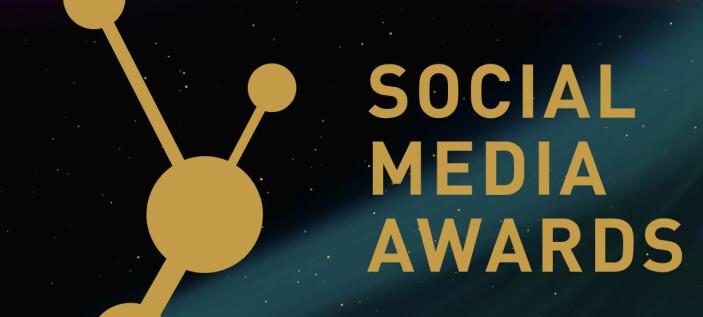 Her er årets Social Media Awards finalister