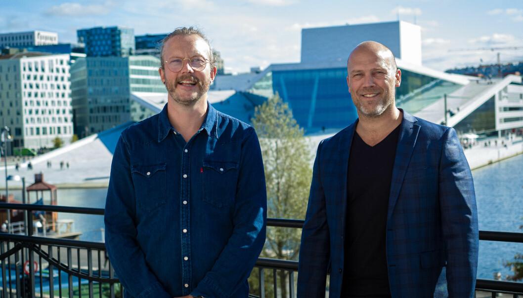 Arnbjørn J. S. Marklund og Lars Yngvar Tømmerholt i Skill.
