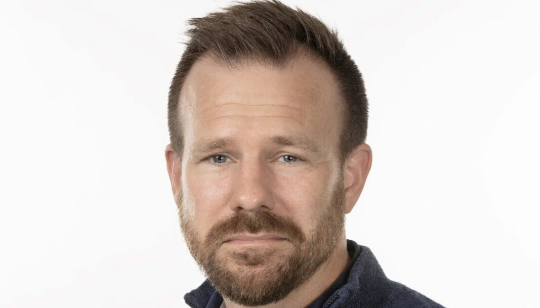 Eskil Grendahl Sivertsen, fagdirektør i FFI, og prosjektleder.