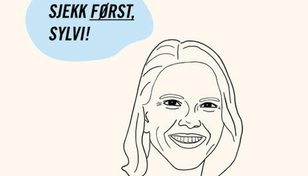 #Sjekkførst-Sylvi, fra Amnestys kampanje.