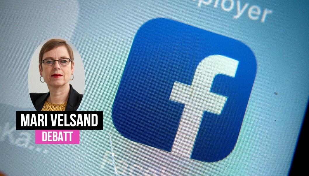 Mari Velsand i Medietilsynet svarer Ståle Lindblad