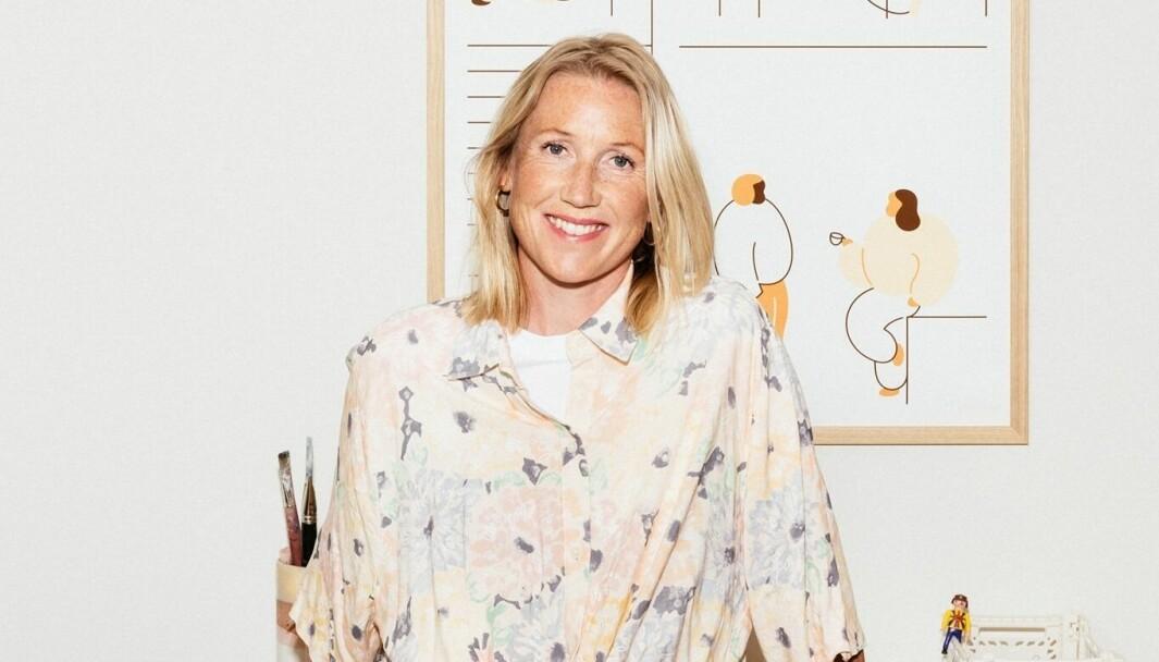 Kreatør og byråleder Eva Wiken i byrået Vild.