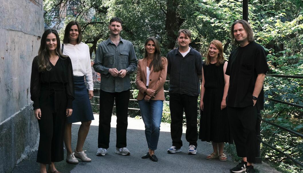 Fra venstre: Madeleine Tognetti, Anne Jorunn Bjoner, William Stormdal, Cecilie Uggen Stang-Lund, Halvor Borchgrevink Nordrum, Elisabeth Jahr Hilde og Svein Haakon Lia.