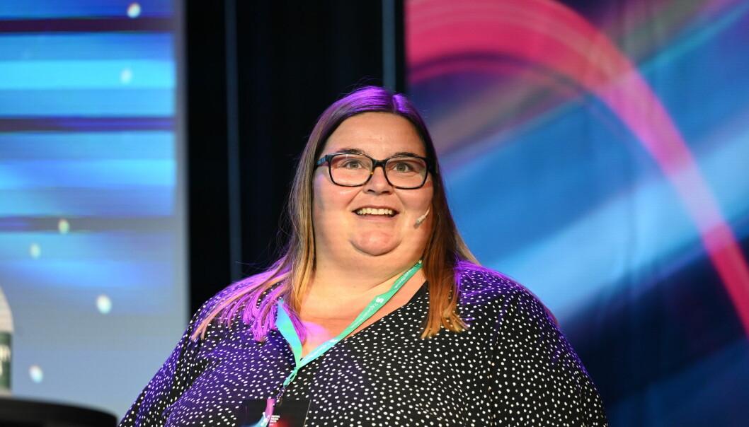 Juryleder Astrid Valen-Utvik har ledet juryen som har kåret tolv vinnere under årets Social Media Awards.